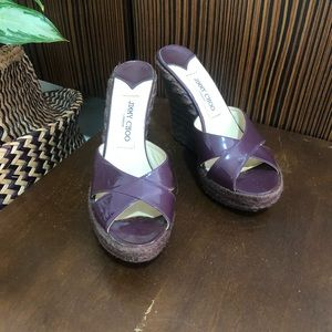 Jimmy Choo platform shoes Great condition